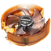 فن سی پی یو گرین Tiny Gold 95 PWM Air Cooling System